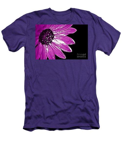 Men's T-Shirt (Slim Fit) featuring the photograph Flower Power  by Juls Adams