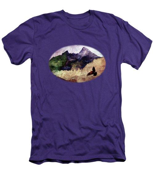 Fly High Men's T-Shirt (Slim Fit) by AugenWerk Susann Serfezi