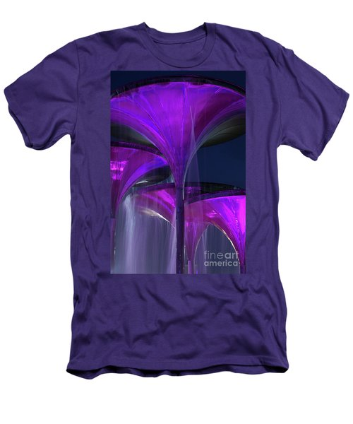 Frog Fountain At Texas Christian University Men's T-Shirt (Athletic Fit)