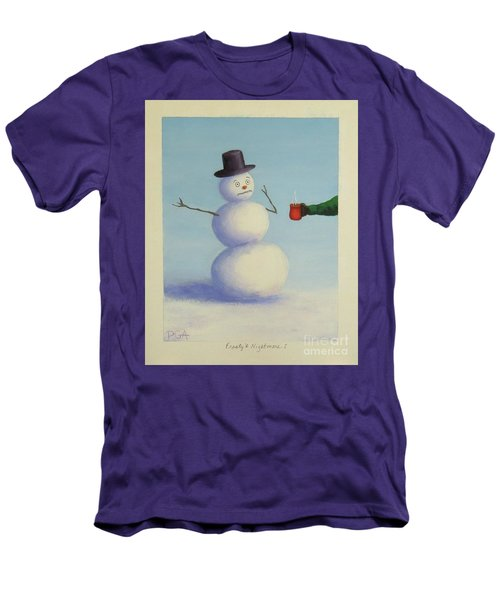 Frosty's Nightmare I Men's T-Shirt (Athletic Fit)