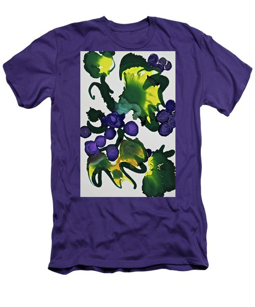 Men's T-Shirt (Athletic Fit) featuring the painting Fruit Of The Vine by Michele Myers