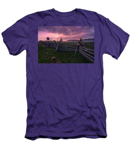 Gettysburg Mornings... Men's T-Shirt (Slim Fit) by Craig Szymanski