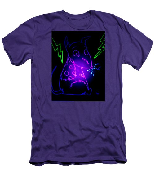 Glow Frankenweenie Sparky Men's T-Shirt (Athletic Fit)
