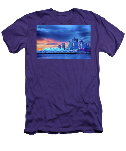 Men's T-Shirt (Athletic Fit) featuring the photograph Good Morning Vancouver by John Poon