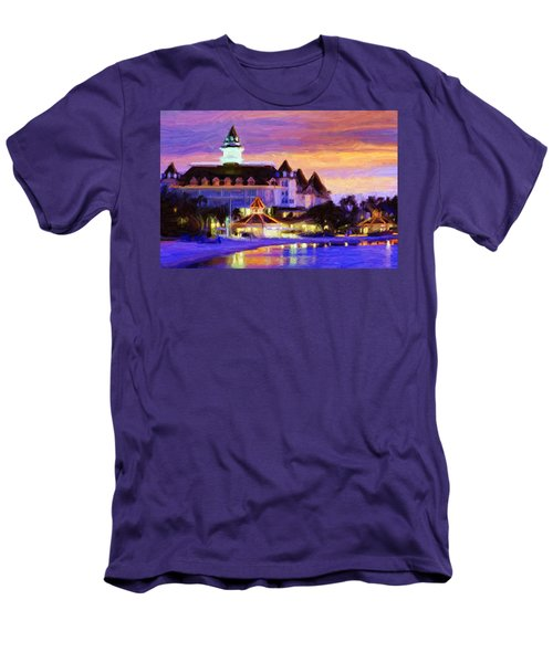 Grand Floridian Men's T-Shirt (Slim Fit) by Caito Junqueira