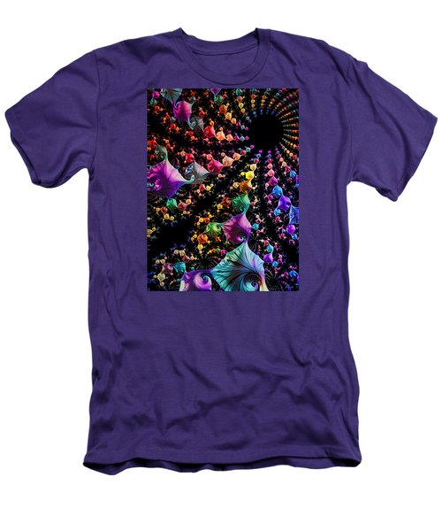 Men's T-Shirt (Slim Fit) featuring the digital art Gravitational Pull by Kathy Kelly