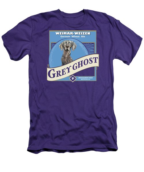 Grey Ghost Weimar-weizen Wheat Ale Men's T-Shirt (Athletic Fit)