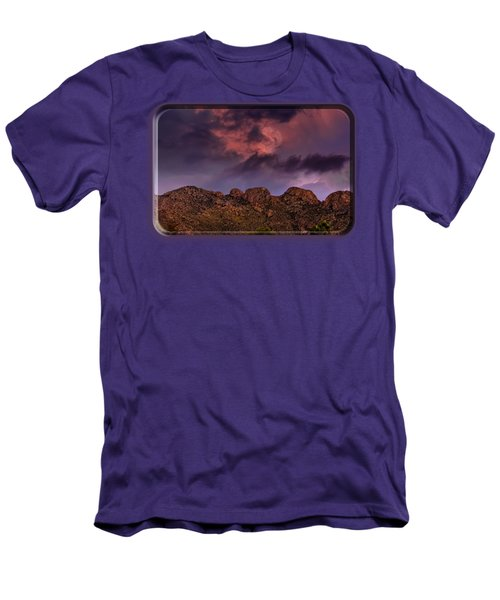 Hallow Moon Men's T-Shirt (Slim Fit) by Mark Myhaver