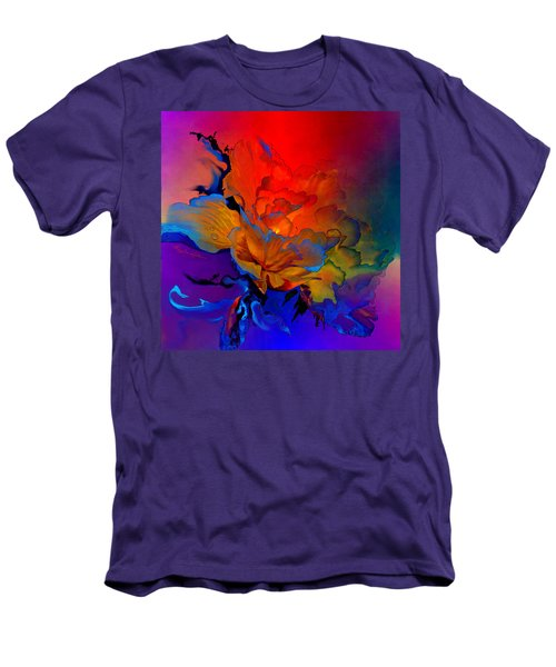 Men's T-Shirt (Athletic Fit) featuring the painting Harmony by Hanne Lore Koehler