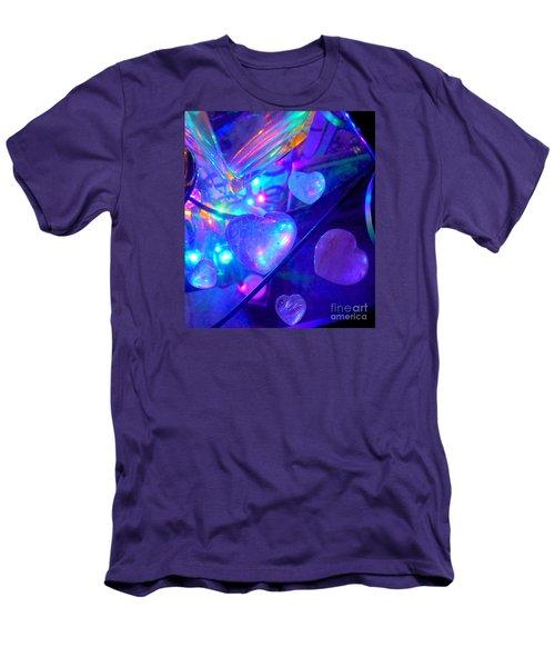 Heavenly Hearts Men's T-Shirt (Athletic Fit)