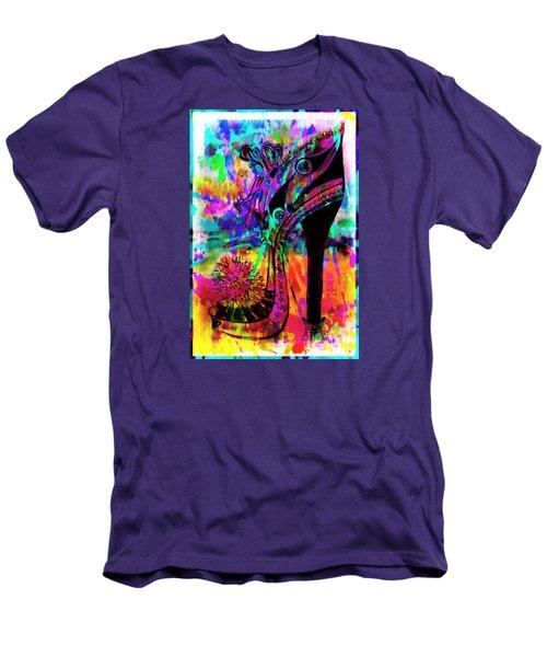 High Heel Heaven Abstract Men's T-Shirt (Slim Fit) by Jolanta Anna Karolska
