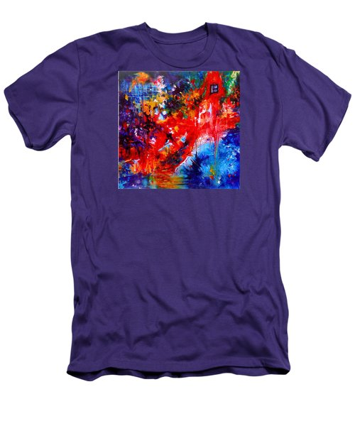 Home Sweet Home. Root Chakra. Series Healing Chakras. Men's T-Shirt (Athletic Fit)