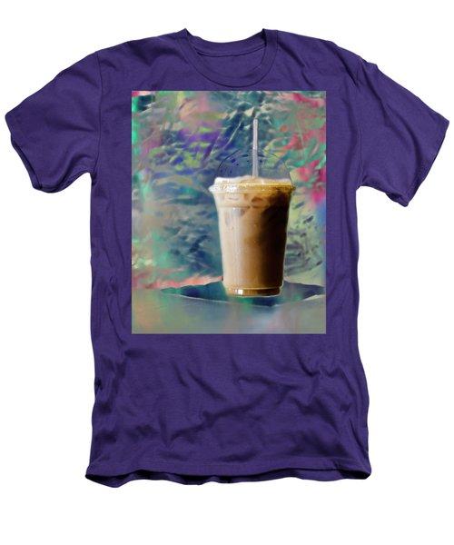 Iced Coffee 3 Men's T-Shirt (Slim Fit)