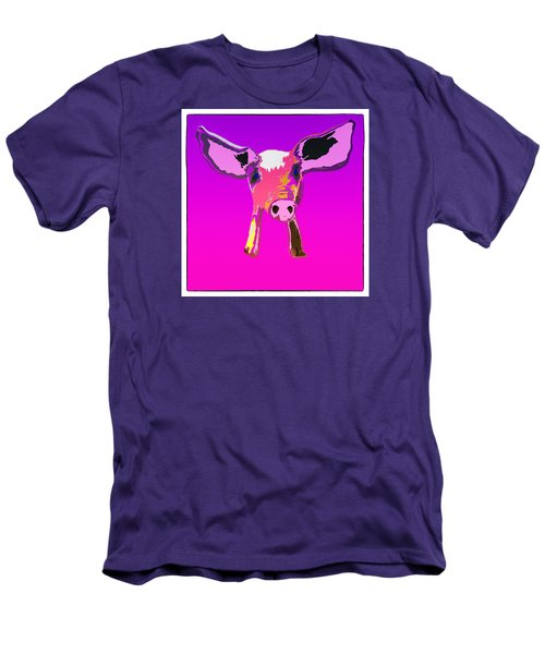 If Pigs Could Fly Men's T-Shirt (Slim Fit) by James Bethanis