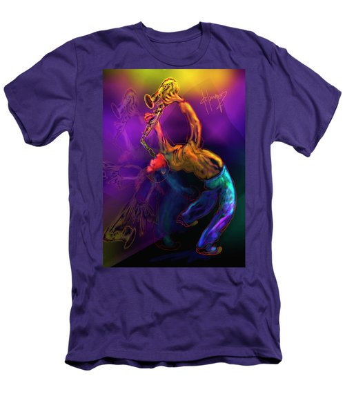 I'll Bend Over Backwards For Your Love Men's T-Shirt (Slim Fit) by DC Langer