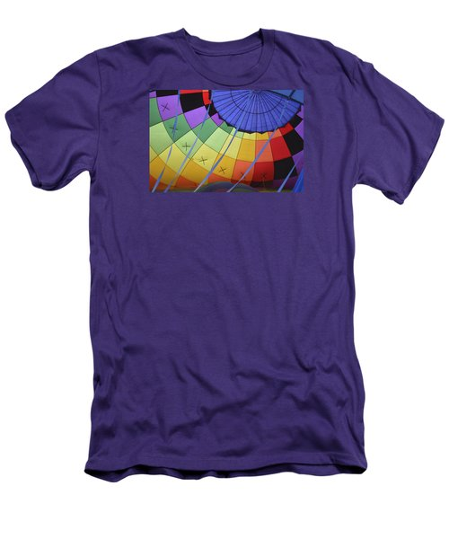 Men's T-Shirt (Slim Fit) featuring the photograph Inflation Time by Linda Geiger