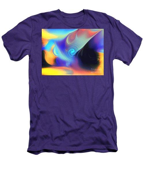 Intensity Vs Energy Men's T-Shirt (Slim Fit) by Yul Olaivar