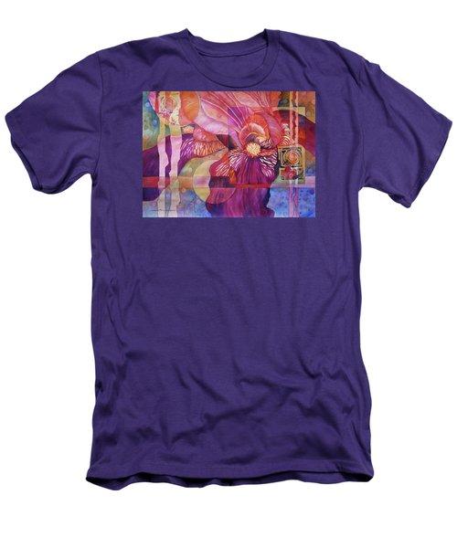 Iris Delight Men's T-Shirt (Athletic Fit)