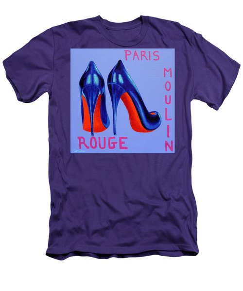 Irish Burlesque Shoes Men's T-Shirt (Athletic Fit)