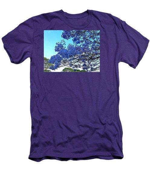 Jacaranda And The Moon Men's T-Shirt (Athletic Fit)