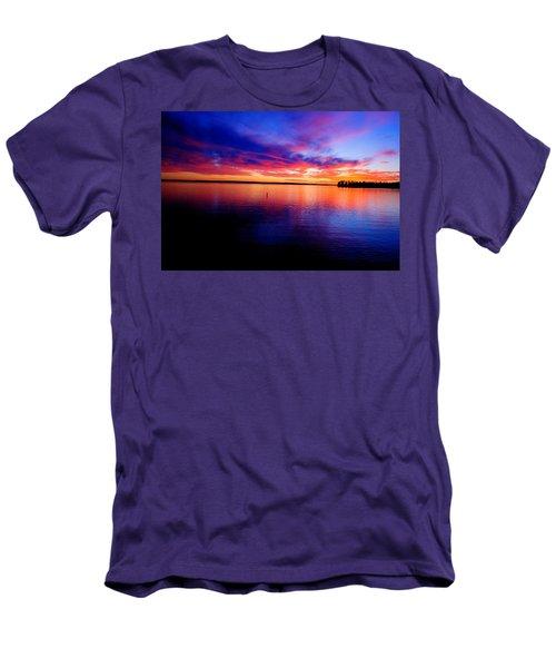 Lake Murray Sunset 21 Men's T-Shirt (Athletic Fit)