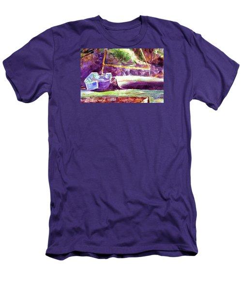 Landed Boats Men's T-Shirt (Athletic Fit)