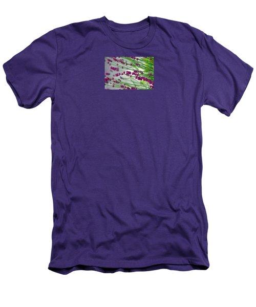 Men's T-Shirt (Slim Fit) featuring the photograph Lavender by Susanne Van Hulst