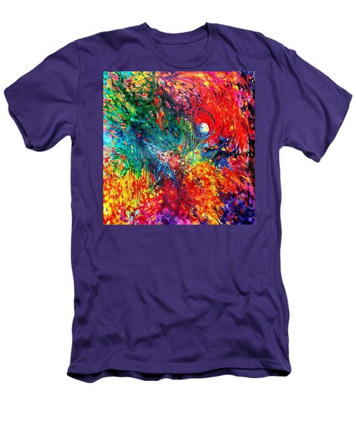 Life Death Rebirth. Heart Chakra. Series Healing Chakras. Men's T-Shirt (Athletic Fit)