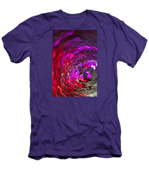 Men's T-Shirt (Slim Fit) featuring the photograph Lights by Roseann Errigo