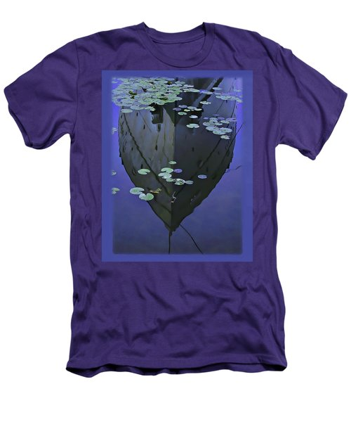 Lily Pads And Reflection Men's T-Shirt (Athletic Fit)