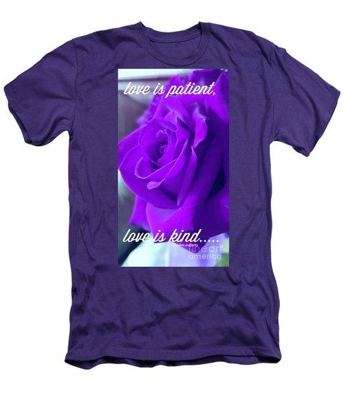 Love Is.... Men's T-Shirt (Athletic Fit)