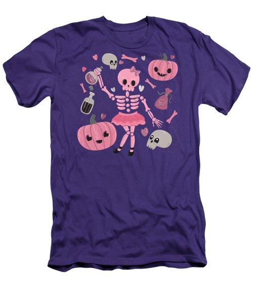 Love Potion Skeleton Dance Men's T-Shirt (Athletic Fit)