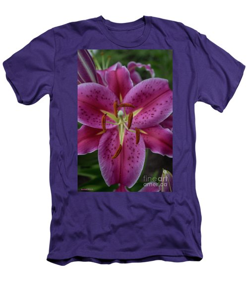 Lovely Lily Men's T-Shirt (Slim Fit) by Roberta Byram