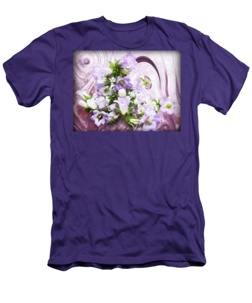 Lovely Spring Flowers Men's T-Shirt (Slim Fit) by Gabriella Weninger - David