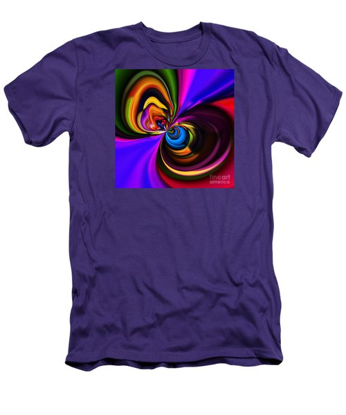 Magic Abstract Men's T-Shirt (Slim Fit) by Elaine Hunter