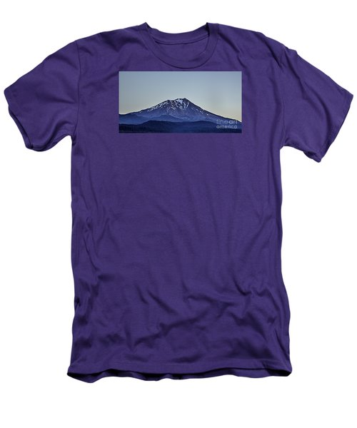 Majestic Mt Shasta Men's T-Shirt (Slim Fit) by Nancy Marie Ricketts