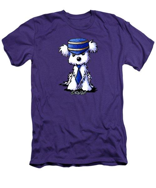 Maltese Conductor Men's T-Shirt (Slim Fit)
