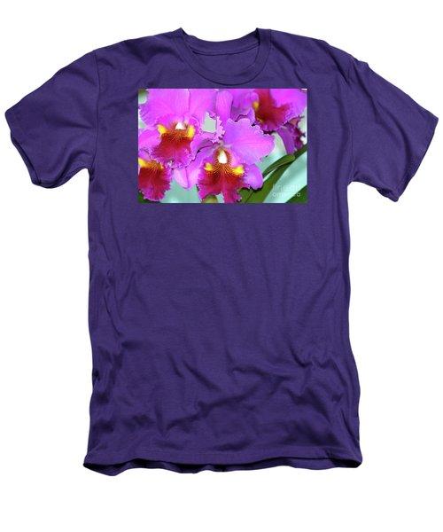 Many Purple Orchids Men's T-Shirt (Athletic Fit)