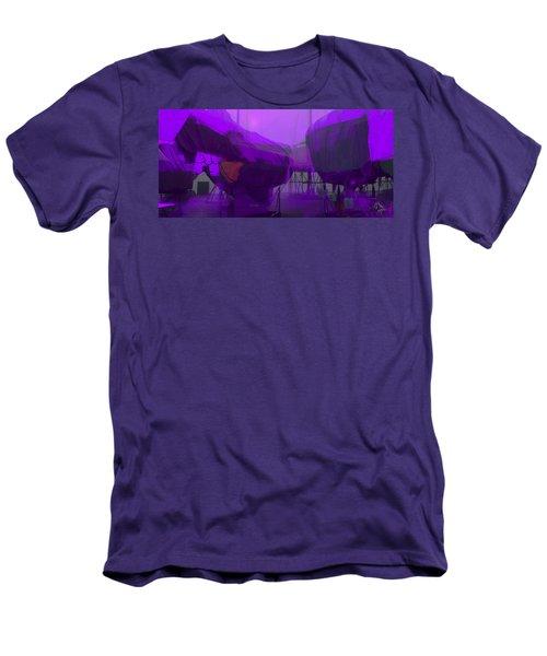Marina Shapes Men's T-Shirt (Athletic Fit)