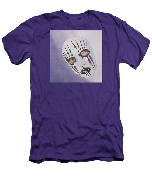 Men's T-Shirt (Slim Fit) featuring the painting Mask I by Teresa Beyer