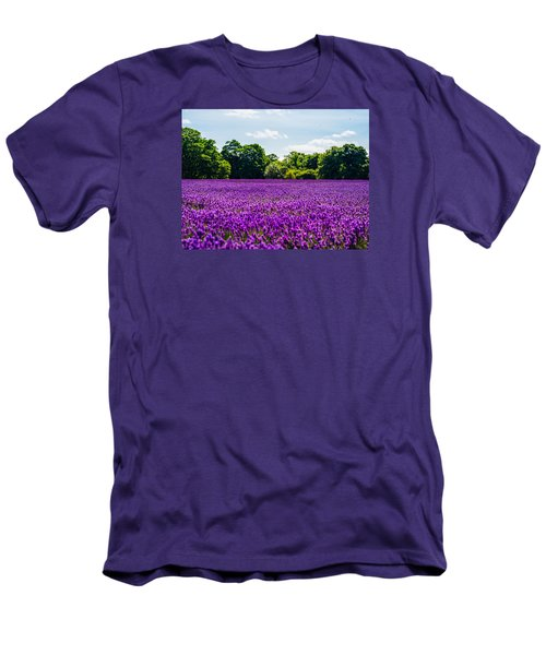 Mayfield Lavender Men's T-Shirt (Athletic Fit)