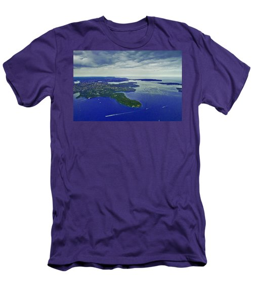 Middle Head And Sydney Harbour Men's T-Shirt (Athletic Fit)