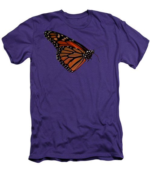 Monarch Butterfly No.41 Men's T-Shirt (Slim Fit) by Mark Myhaver