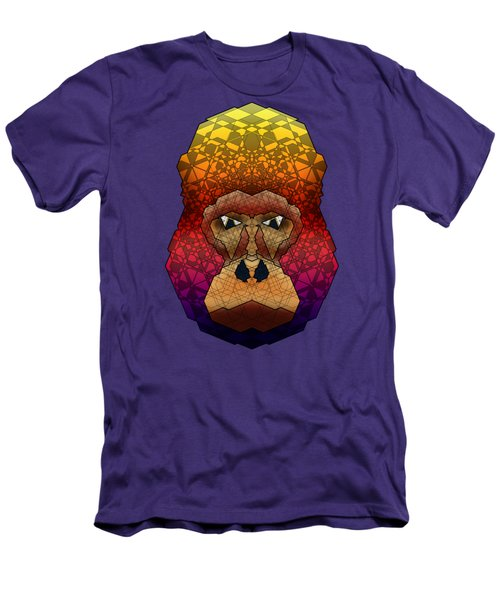 Mountain Gorilla Men's T-Shirt (Slim Fit) by Dusty Conley