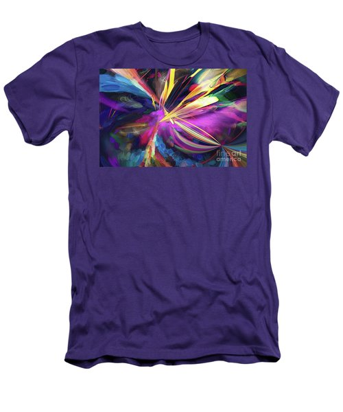 Men's T-Shirt (Athletic Fit) featuring the digital art My Happy Place by Margie Chapman