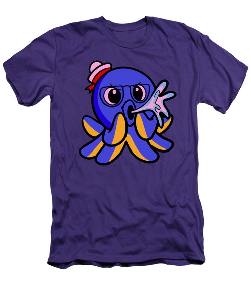 My Octopus Can Spit Men's T-Shirt (Athletic Fit)