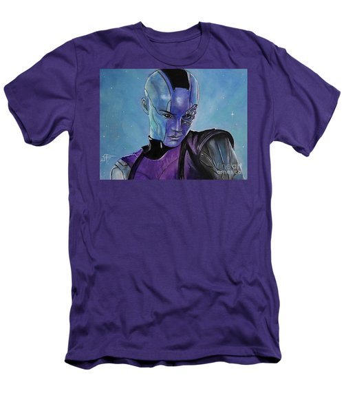Nebula Men's T-Shirt (Slim Fit) by Tom Carlton