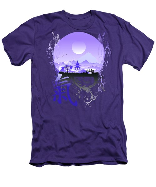 Men's T-Shirt (Slim Fit) featuring the photograph Night Qi by Robert G Kernodle