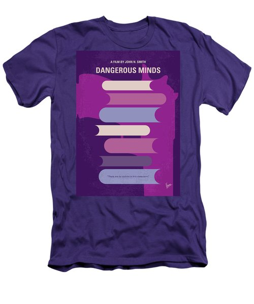 No655 My Dangerous Minds Minimal Movie Poster Men's T-Shirt (Athletic Fit)