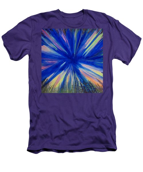 Northern Lights 3 Men's T-Shirt (Slim Fit) by Cathy Long